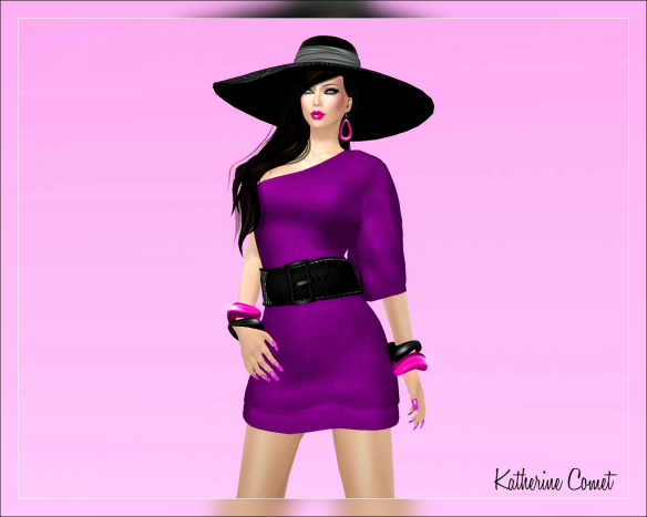 Lourdes Dress with Texture Change HUD