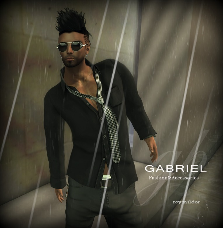GABRIEL : NEW RELEASE / Loose Shirt and Tie