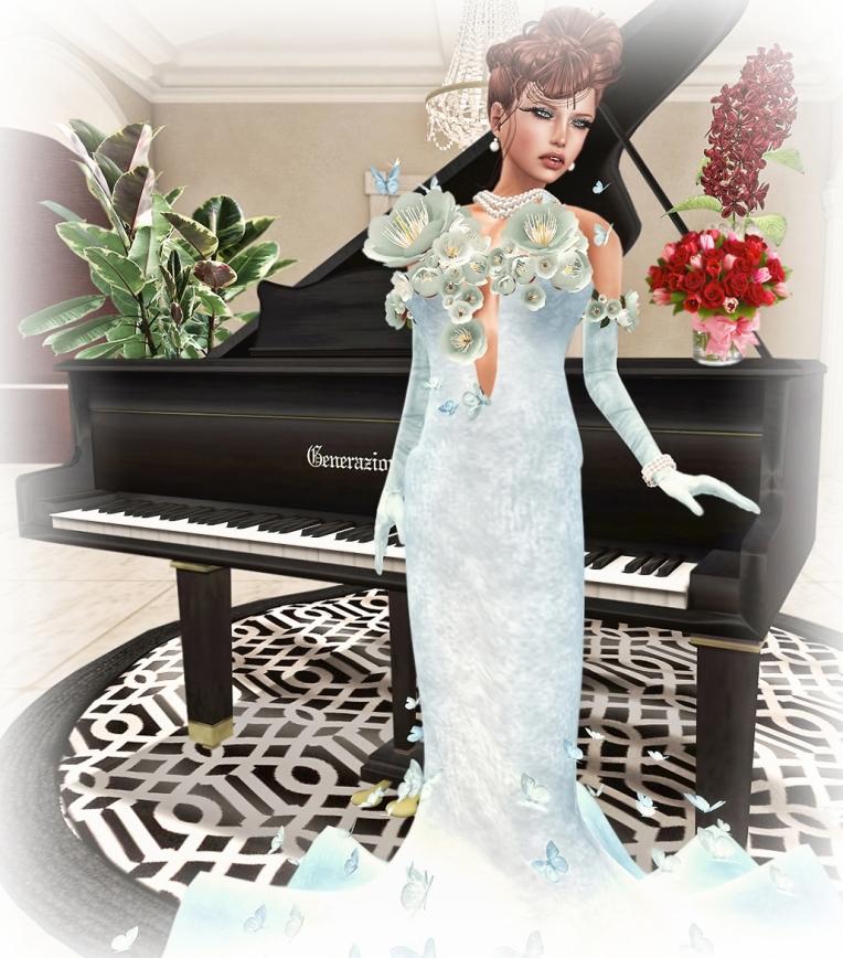 Topazia-Cassandre Gown