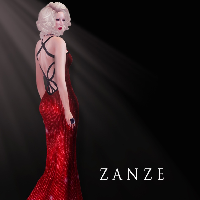 [ZE] Zzayli Gown {RUBY} 2